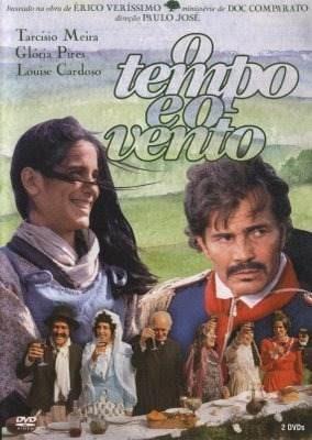 minissérie o tempo e o vento (1985) completa em dvd