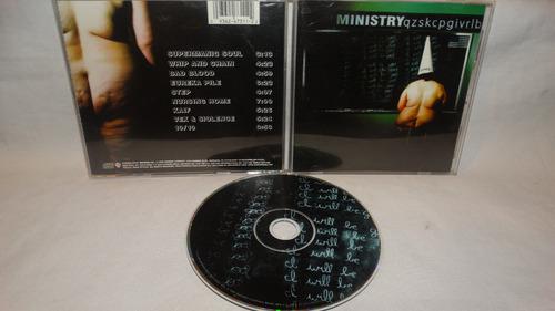 ministry - qzskcpgivrlb (cd presenta algunas marcas)
