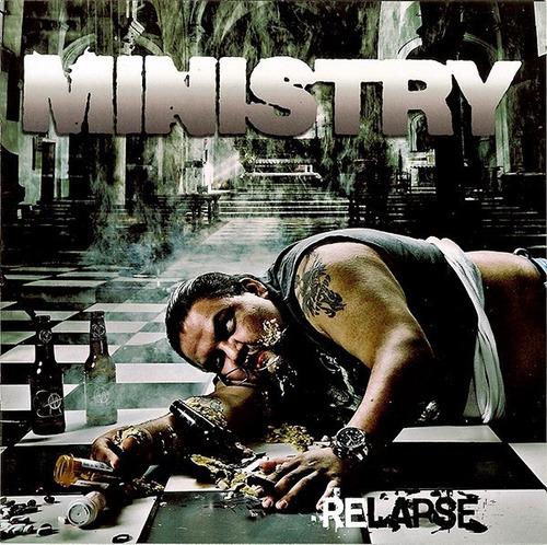 ministry  relapse  cd digipak