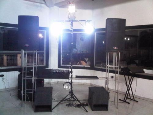 miniteca, alquiler de sonido e iluminacion