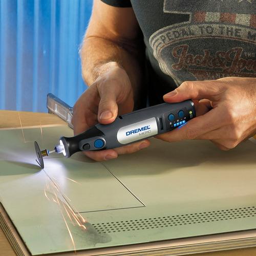 minitorno 8050 dremel micro kit 18 acc. batería 7,2v