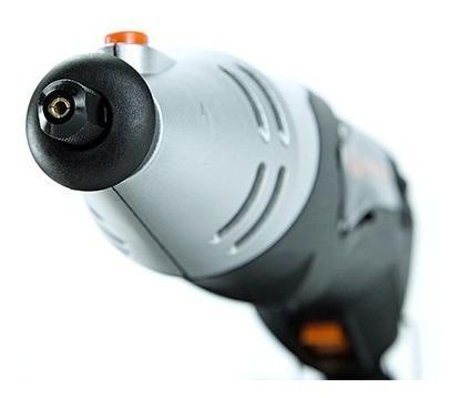 minitorno daewoo 170w + kit 120 accesorios + tripa eje flexible + bolso + led envio gratis mini torno de mano dadg233