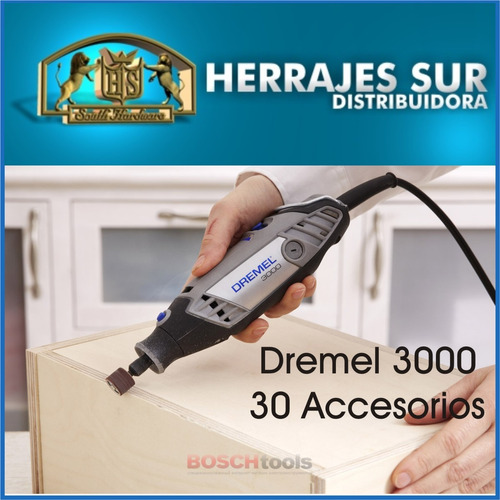 minitorno dremel 130w serie 3000 30 accesorios mini torno