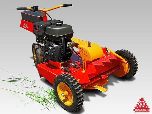 minitractor cortacesped y malezas roland h pro motor 13.5 hp