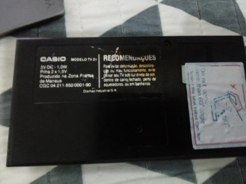 mini_tv-21 casio antiga_colecionador! ligando,
