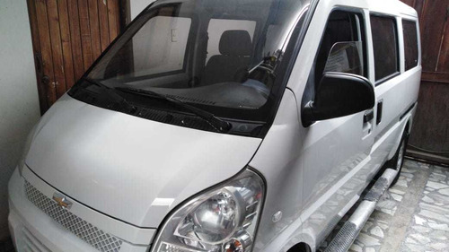 minivan chevrolet n300 8 asientos 2017 glp venta alquiler