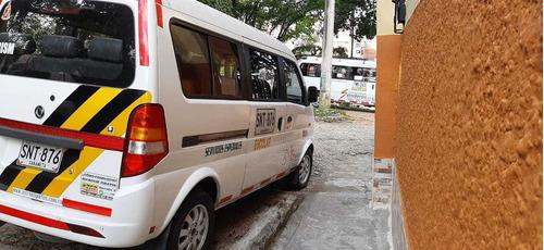 minivan dfm 2014 9 pasajeros