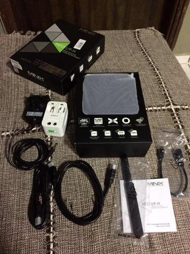 minix neo u9-h + air mouse com microfone