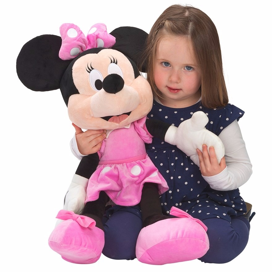 minnie 90cm gigante importado disney store juguete peluche en mercado libre. Black Bedroom Furniture Sets. Home Design Ideas
