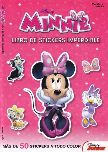minnie - libro de stickers imperdible