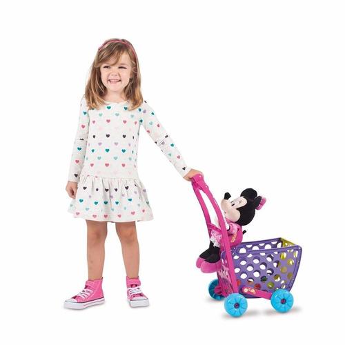 minnie mouse - carrito de compras