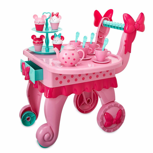 minnie mouse carro de te musical, set minnie mouse disney