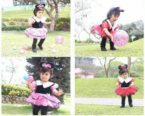 minnie mouse. disfraces para bebes t2, t4