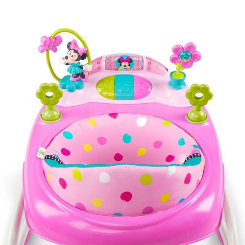 minnie mouse disney caminador y silla mecedora vibradora