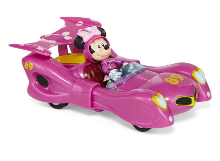 Minnie Mouse En Su Carro Carrera Original Disney Bs 26 57 En