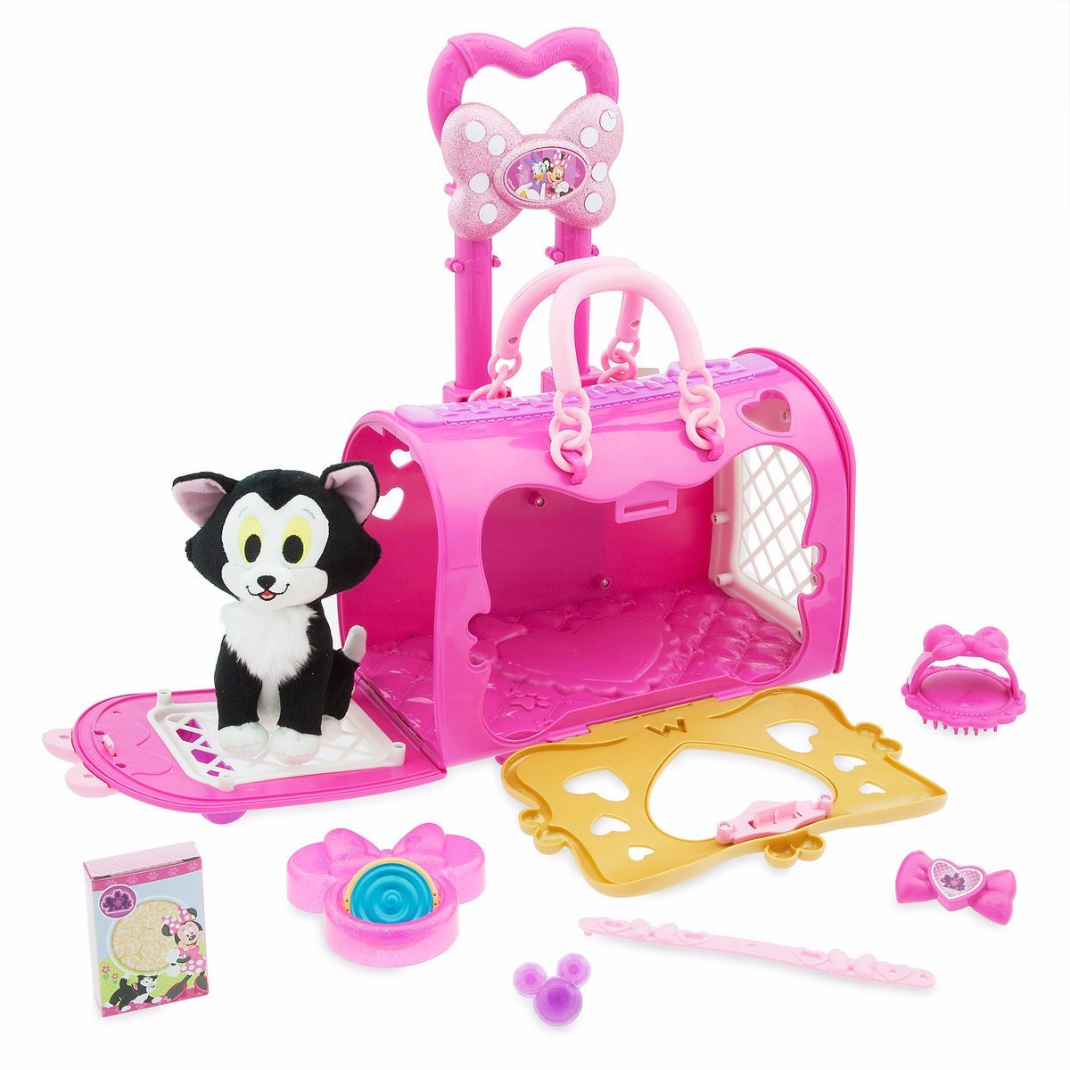 Minnie Mouse Juguete Y Peluche Figaro Transportin Minnie