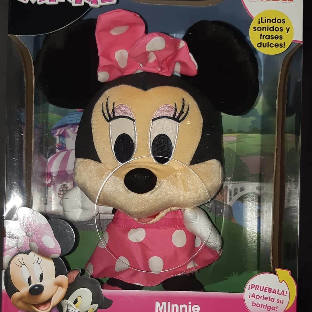 Minnie Mouse Lindos Sonidos Y Frases Dulces