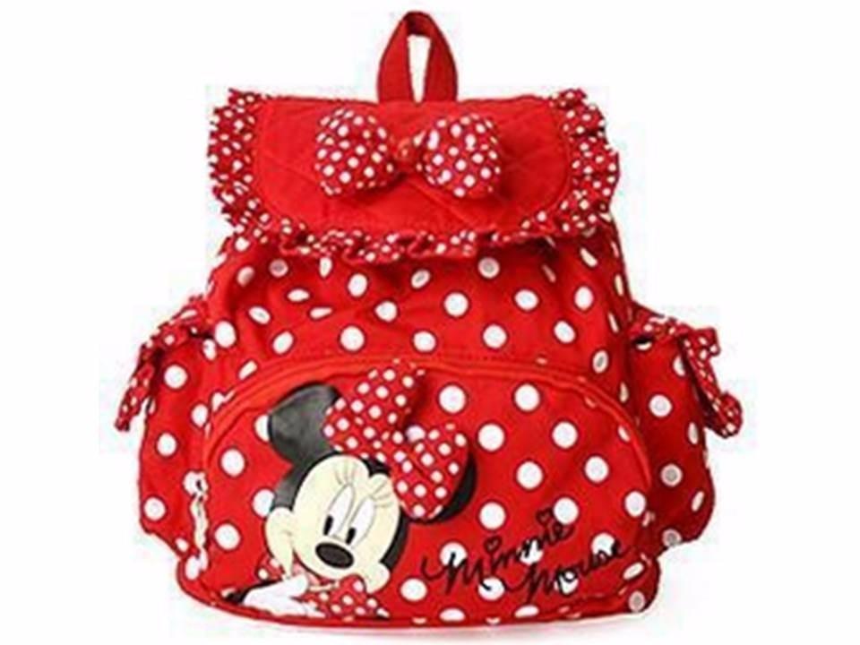 Bolsa Escolar Infantil Feminina Mercado Livre : Minnie mouse mochila disney infantil escolar crian?a beb?