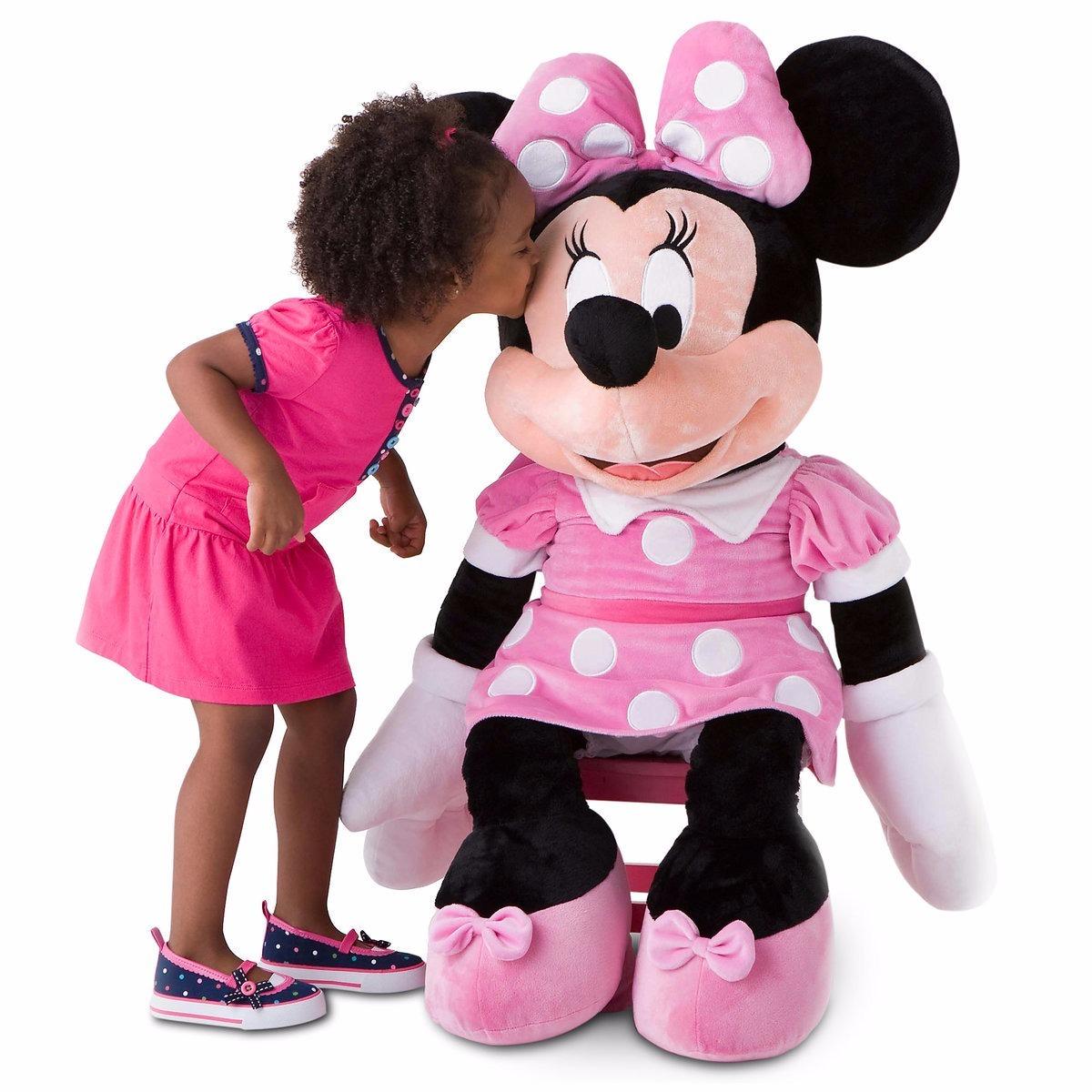 minnie mouse peluche gigante minnie mouse original disney en mercado libre. Black Bedroom Furniture Sets. Home Design Ideas