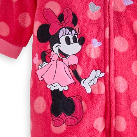 14e475c98a Minnie Mouse Pijama Manta Para Bebé - Personalizado Disney -   1.399 ...
