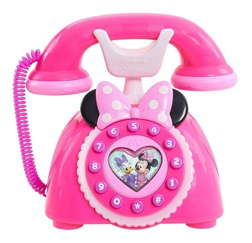 minnie mouse telefono ayudantes felices luz y sonidos happy