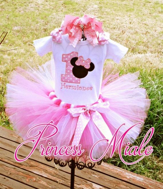 0a7088e91 Minnie Mouse Tutu Vestido Niña Bebe Cumpleaños Tutus Mini - S/ 1,00 ...