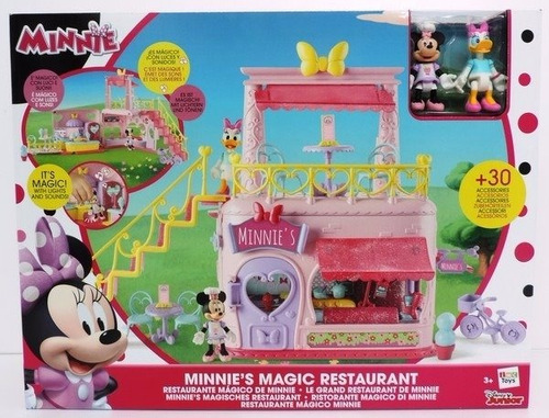 minnie's restaurant magico minnie con luz y sonido