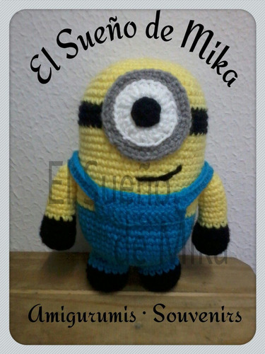 minnion amigurumi