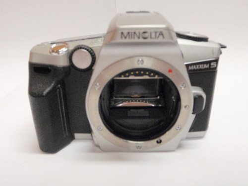 minolta maxxum 5 35mm cuerpo de cámara