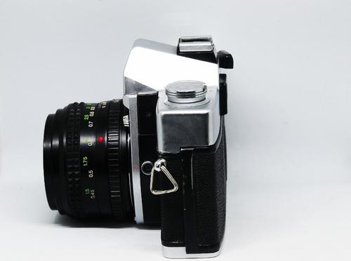 minolta srt100x con lente minolta 1:1.4