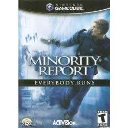 minority report - everybody runs / gamecube gc &  wii