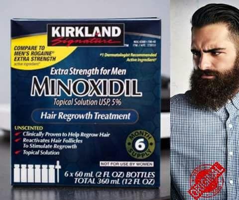 minoxidil kirkland caja original