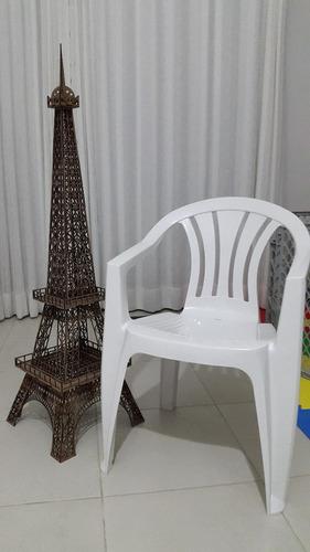 minuatura torre eiffel 1 metro altura mdf para montar