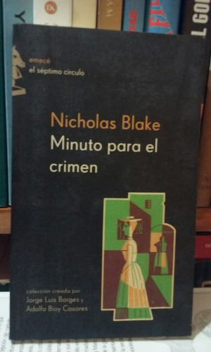 minuto para el crimen - nicholas blake
