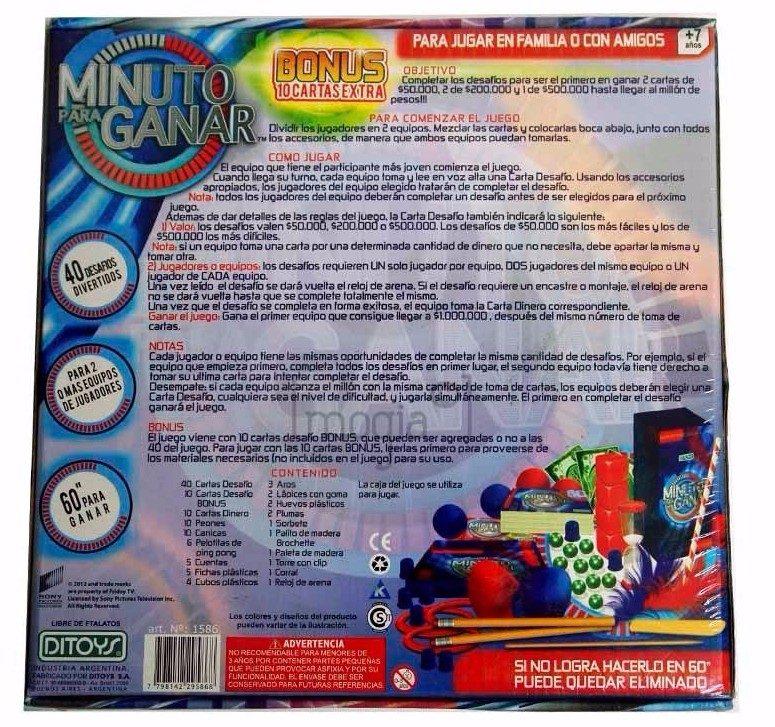 Minuto Para Ganar 438 00 En Mercado Libre
