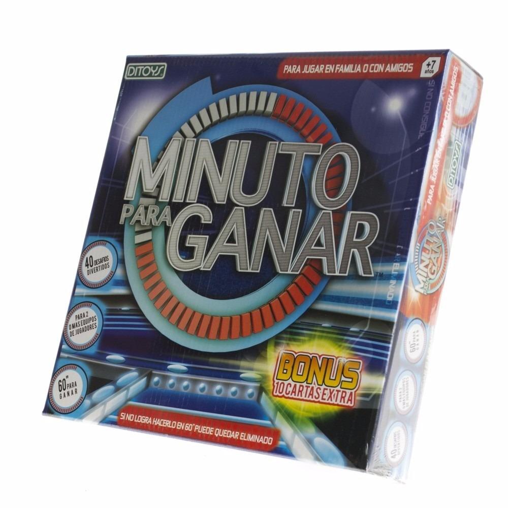 Minuto Para Ganar Juego De Mesa 600 00 En Mercado Libre
