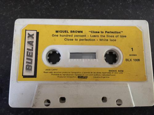 miquel brown - close to perfection (cassette)