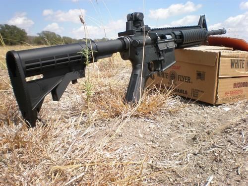 mira colt m4 m16 ar15 rifle trasera militar gotcha airsoft