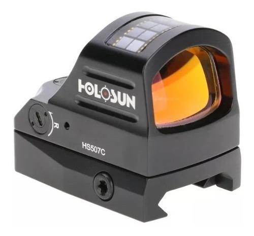 mira holográfica led vermelho holosun hs 507c original