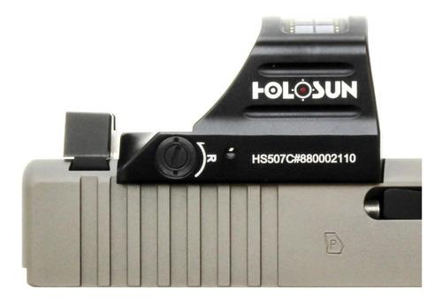 mira holográfica led vermelho holosun hs507c original