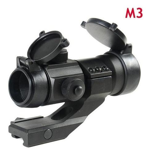 mira holografica tactica militar reflex m3 punto rojo verde