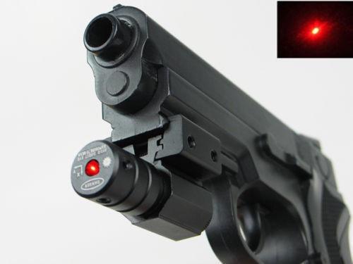 mira laser compacta para pistola