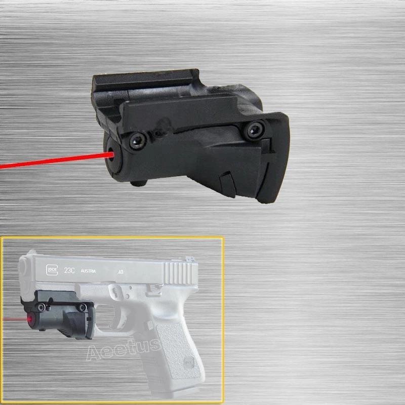 Mira Laser Punto Rojo Para Glock. - $ 650.00 en Mercado Libre