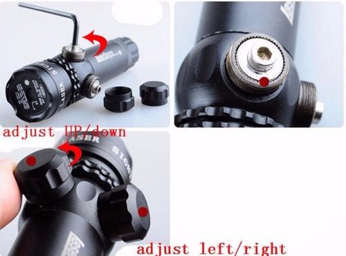 mira laser punto verde puntero rifle/ area outdoor