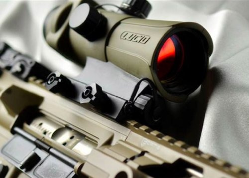 mira lucid hd7 generation 3  red dot sight