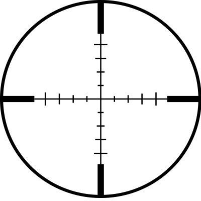 mira ncstar 2-7x32 p4 tri riel 20mm marcadora gotcha xtreme