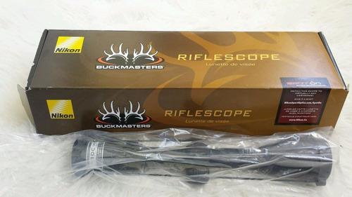 mira nikon buckmaster 3-9x40 bdc mas modelos pregunta!