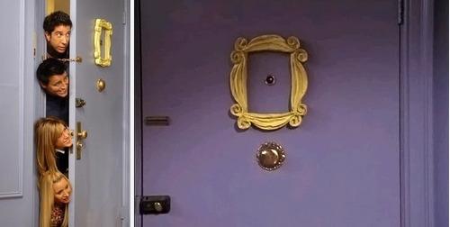 mira para puerta al estilo friends sólo para coleccionistas!
