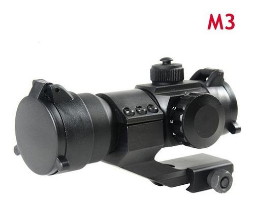 mira reflex holografica tactica m3 1x30 reticula iluminada