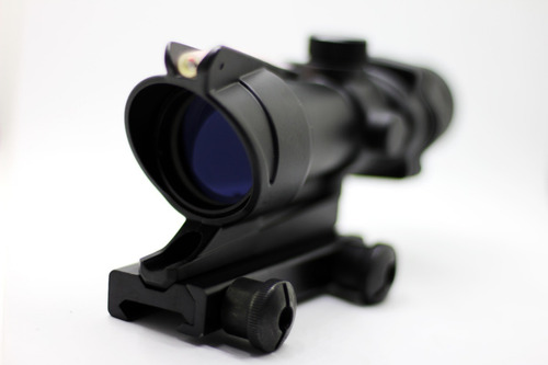 mira tactica caza aumento acog 4x32 airsoft paintball
